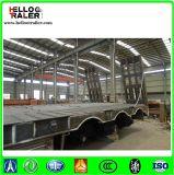 De op zwaar werk berekende Aanhangwagen van de Vrachtwagen gebruikte wijd de Lage Aanhangwagen van het Bed 60-120tons