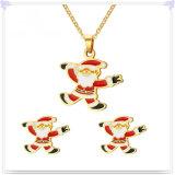 Gift van Kerstmis van de Juwelen van de Manier van de Juwelen van het roestvrij staal de Vastgestelde (JS0262)