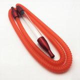 [1.8م] طول أحمر أكريليكيّ نارجيلة [هوس بيب] مع قطعة فم ([إس-هّ-003])