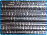 Roestvrij staal In reliëf gemaakte Buizen