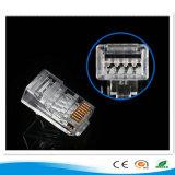 Prise modulaire en gros de télécommunication Cat5e CAT6 CAT6A Cat7 de 2016 basse Chine