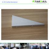 Peças fazendo à máquina do CNC da alta qualidade material Triângulo-Redonda de Aliminum
