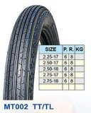 Motorrad-Gummireifen 2.25-17 2.50-17 2.50-18 2.75-17 2.75-18 heiß