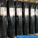 PP Black Ground Cover 120 pieds et maillot de lutte contre les mauvaises herbes de 150 pieds