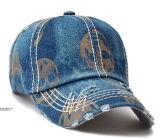 Крышка спорта бейсбола джинсовой ткани Jean сбор винограда