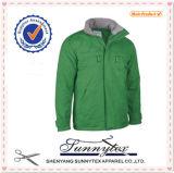 Куртка клобука зимы для людей лыжи