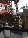 Las ventas calientes de Keychain del metal crean la etiqueta para requisitos particulares dominante