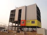 Casa prefabricada de acero ligera para el almacén/el chalet GB1519 del taller