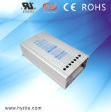 excitador Rainproof do diodo emissor de luz do alumínio de 5V 150W para o projeto ao ar livre da iluminação com CCC