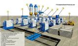 De Verticaal die van Tianyi de Automatische Vuurvaste EPS Machine van het Comité van de Sandwich van het Cement roteren