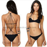 Neue Entwurfs-heiße Dame-reizvoller Bikini im Fabrik-Preis