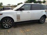 Range Rover mette in mostra il punto laterale di potere