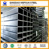 De longueur standard professionnel pour la pipe en acier rectangulaire de construction