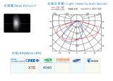 LED Street Light/Lamp Module Lens with 12 (2*6) LED of Seoul 4040 CREE Xte (Polarized Light)