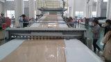 Linha de produção de mármore artificial composta plástica de pedra do perfil do PVC
