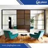 2mm 4mm 5mm großes Wand-dekoratives Silber beschichteter farbiger Spiegel