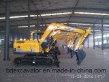 Máquina Digger da máquina escavadora barata nova da esteira rolante com a cubeta 0.2-0.5m3