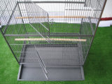 Grand oiseau Aviary Bird Cage Metal Parrot Birds House Birdcages Stable Steel Pet Cage