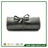 Customized Made Leather Jewelry Roll as Gift