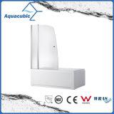 Recinto simple de cristal de la ducha del cuarto de baño y pantalla de ducha (AQ-GLHY601A)