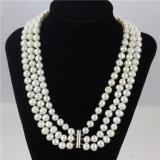 Snh 8-9m m una joyería simple del collar de la perla