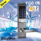 Fechamento de porta biométrico ao ar livre da impressão digital da tela de toque