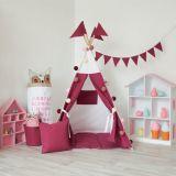 Kind-Zelt-Kind-Zelt-Spielzeug-Haus-indisches Zelt scherzt Teepee