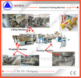 Swfg-590 secan la maquinaria automática del pesaje y de envasado de las pastas de los tallarines