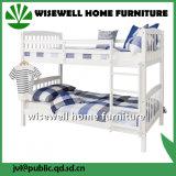 Kiefernholz-Koje-Bett mit einzelnem Bett 2 in der weißen Farbe