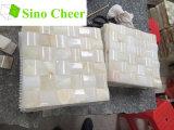 中国白のオニックス大理石のモザイク・タイルの価格
