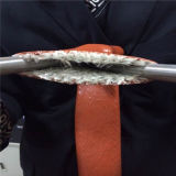 Cubierta de caucho de silicona de fibra de vidrio para manguera