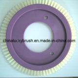 Witte Nylon Materiële Ronde TextielBorstel (yy-254)