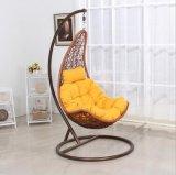 Rattan geformte Schwingen-Stuhl-Flechtweide, die Einzelsitz-Schwingen (D018, hängt)