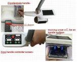 8インチのタッチ画面3のCryotherapyの処置H-2002Dを細くする点滅のキャビテーションRFヘッド2 Cryolipolysisのヘッド真空の減量