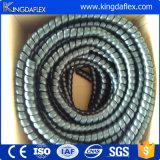Schwarzer gewundener Schlauch-Schutz für Kabel