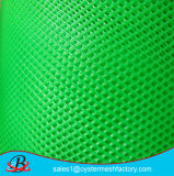 Fábrica plástica do engranzamento da cor verde