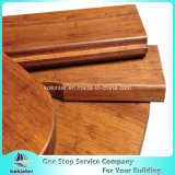 Sitio de bambú pesado tejido hilo al aire libre de bambú 8 del chalet del suelo del Decking
