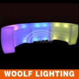 300 디자인 LED KTV 바 카운터 가구 LED에 의하여 조명되는 바 카운터 가구