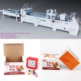 Dobrador ondulado automático Gluer da caixa e máquina de embalagem (GK-G)
