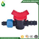 Soupape en plastique de l'eau de Driptape d'irrigation de jardin mini
