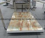Cadena de producción de mármol de la hoja del PVC de la máquina de mármol de la hoja del PVC