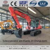 Máquina escavadora da esteira rolante Bd150 para a venda (0.7m3/14.2T)