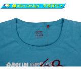 O modelo novo da forma bonita coreana impresso projeta a menina das senhoras da camisa de T