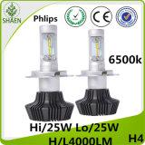 Linterna H4 H/L 4000lm del coche de Philips LED