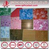 木パターンカラーによって塗られる鋼板または花デザインPPGI