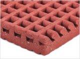 Estándar de dos capas de goma prefabricada Pista de atletismo de material
