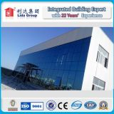 Dois ao andar Steel Structure Building de Five por H Section Steel