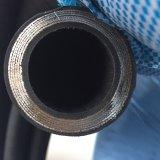 중국 En856 4sh 고압 철강선은 고무 호스 나선형을 그렸다