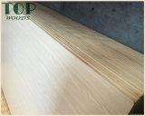 MDF del teck di 9/12/15/18mm/quercia rossa/noce nera/ciliegia/impiallacciatura del faggio per mobilia