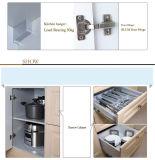 Moderner Entwurf Belüftung-Küche-Schrank-Vinylverpackungs-Küche-Möbel (zc-045)